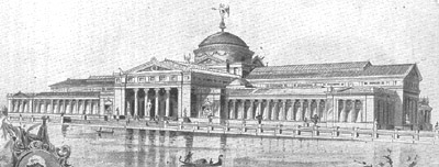 The Arts Palace, Columbian Exposition of 1893